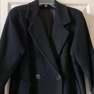 Black Cashmere Coat